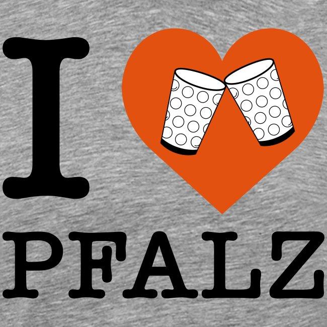 I love Pfalz – Dubbeglas