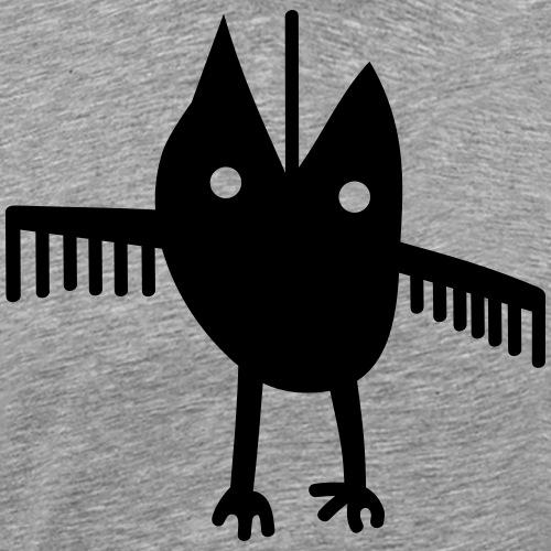 Eule abstrakt ! - Männer Premium T-Shirt