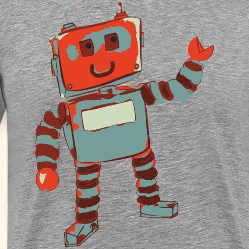 Roboter Tonda - by irk - Männer Premium T-Shirt