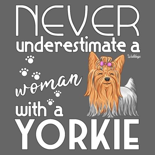 Yorkie Underestimate - Miesten premium t-paita