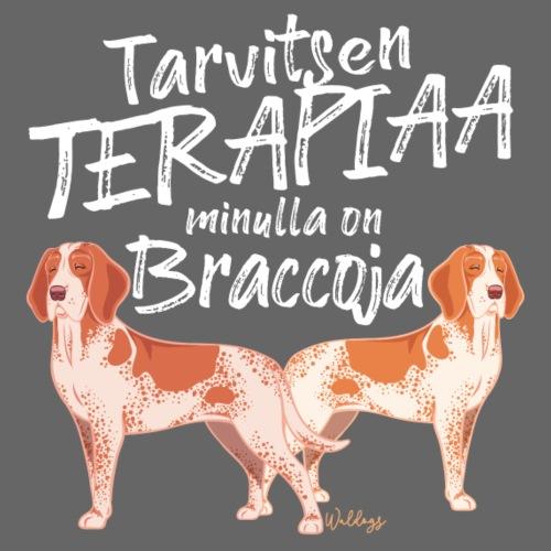 Bracco Terapiaa III - Miesten premium t-paita