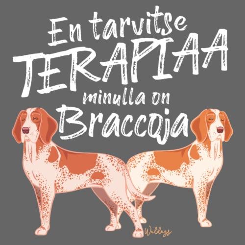 Bracco Terapiaa IV - Miesten premium t-paita