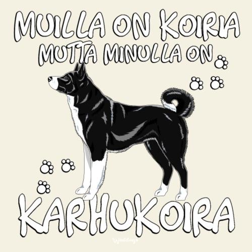 Karhukoira Koiria 2 - Miesten premium t-paita