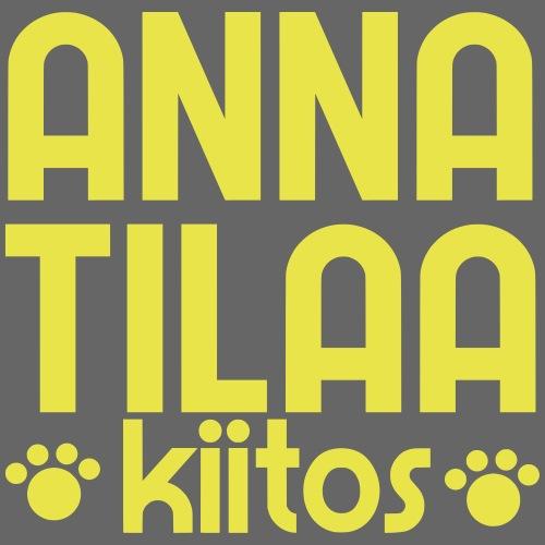 Anna Tilaa Kiitos - Miesten premium t-paita