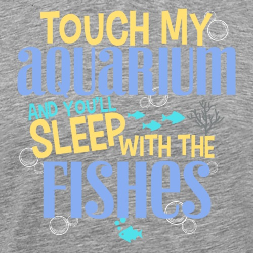 Sleep With The Fishes II - Miesten premium t-paita