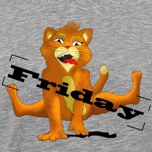 cat friday1 - Männer Premium T-Shirt