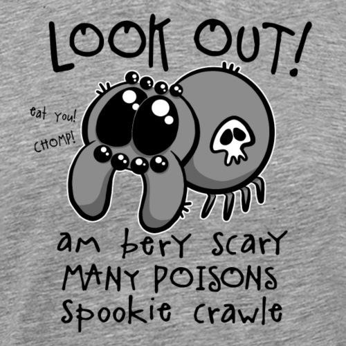 Spookie Crawle III - Miesten premium t-paita