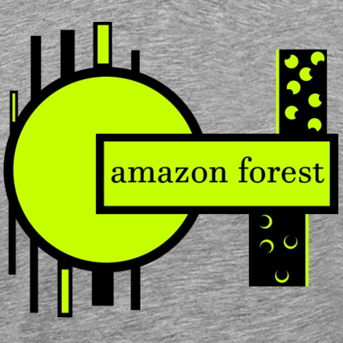 Amazon forest - T-shirt Premium Homme