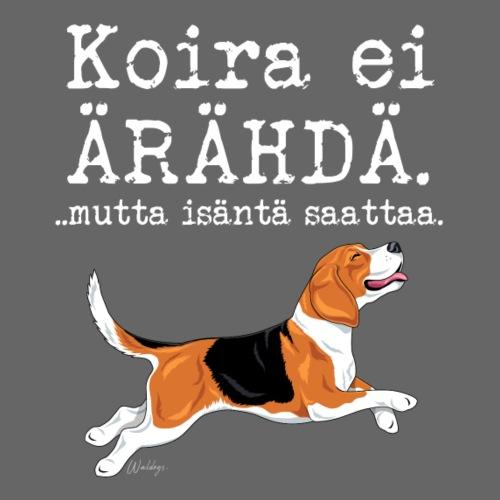 Beagle Ärähdä Isäntä - Miesten premium t-paita