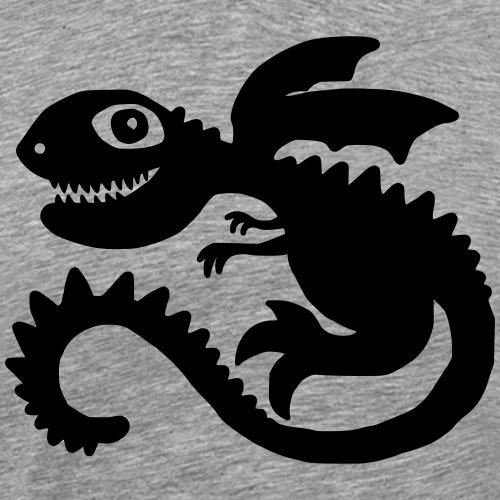 Little Dragon - Männer Premium T-Shirt