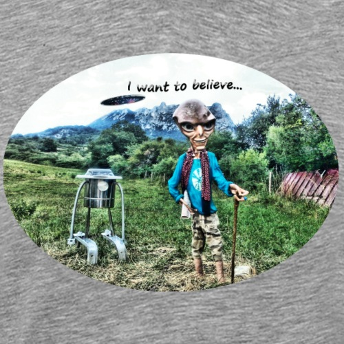 I want to believe in Bugarach - T-shirt Premium Homme