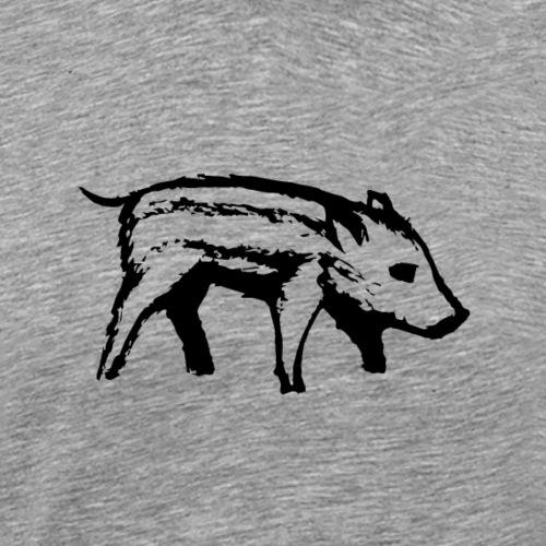 Ferkel | Schweinchen - Männer Premium T-Shirt