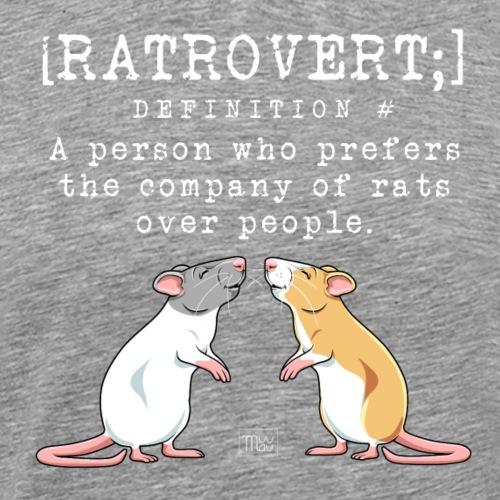 Ratrovert VI - Miesten premium t-paita