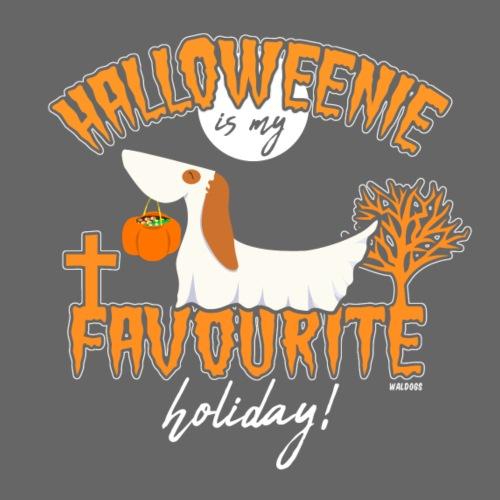 Halloweenie - Miesten premium t-paita