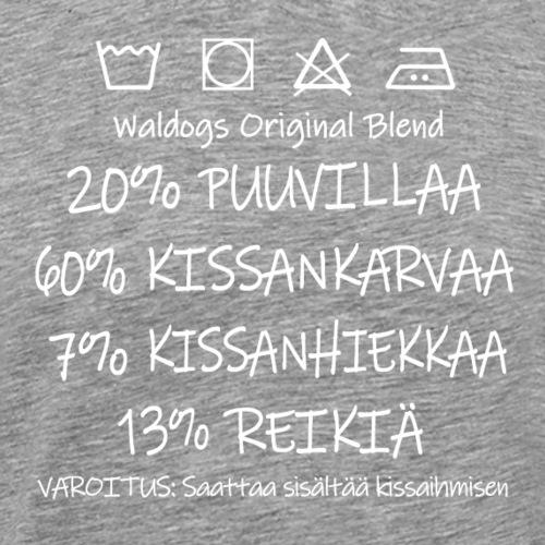 Kissi Original Blend II - Miesten premium t-paita