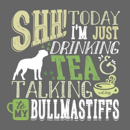 SHH Bullmastiff Tea - Miesten premium t-paita