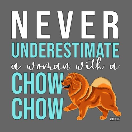 Chow Woman - Miesten premium t-paita