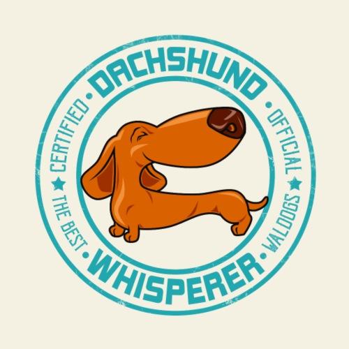 Dachshund Whisperer I - Miesten premium t-paita