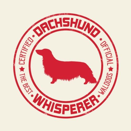 Dachshund Whisperer LH - Miesten premium t-paita