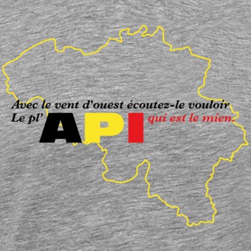 API Belgique - T-shirt Premium Homme