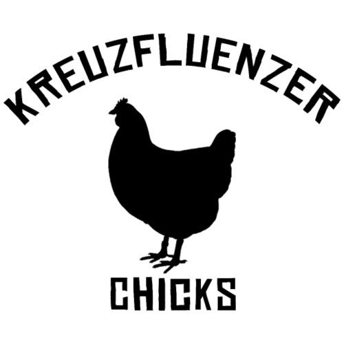Kreuzfluenzer Chicks BLACK - Männer Premium T-Shirt