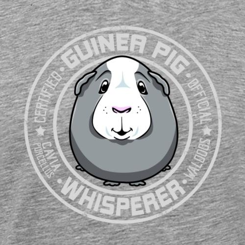 Guinea Pig Whisperer III - Miesten premium t-paita