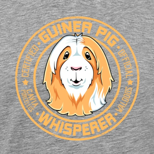 Guinea Pig Whisperer V - Miesten premium t-paita