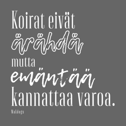 Varo Emäntää II - Miesten premium t-paita