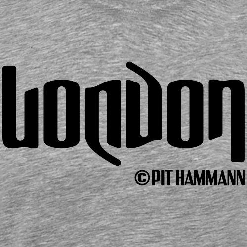Ambigramm London 01 Pit Hammann - Männer Premium T-Shirt