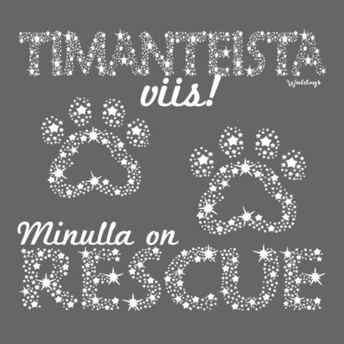 Rescue Dimangi - Miesten premium t-paita
