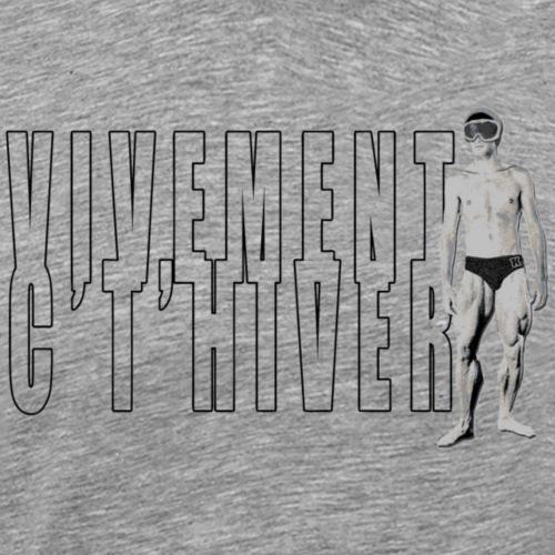 TELEMARK Vivement cet Hiver - T-shirt Premium Homme