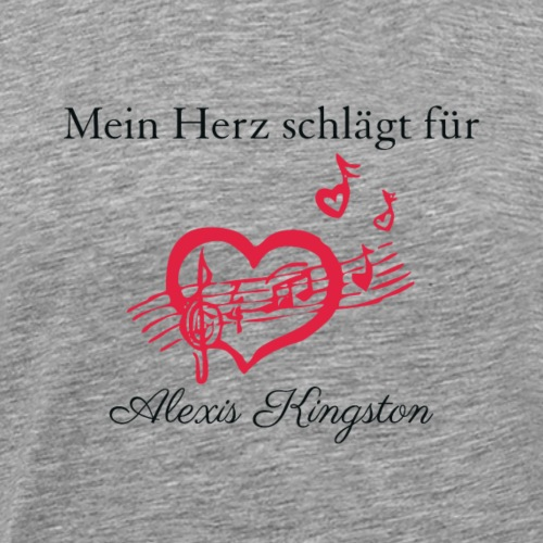 Alexis_Kingston Fanshirt - Männer Premium T-Shirt
