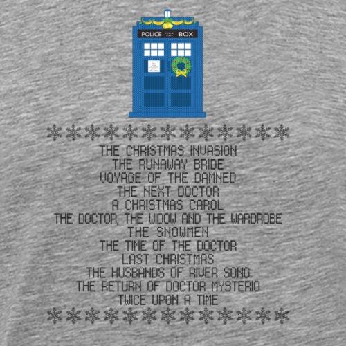 Doctor Who xmas special - Maglietta Premium da uomo
