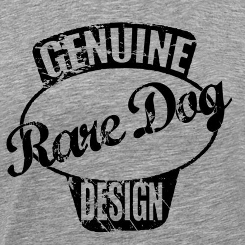 raredogdesign black - Herre premium T-shirt
