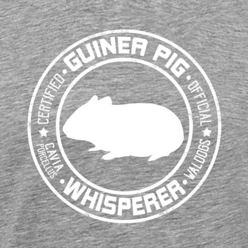 Marsewhisperer White - Miesten premium t-paita