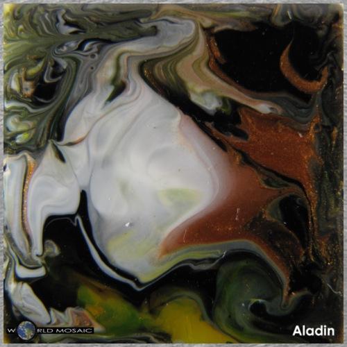 TIAN GREEN Mosaik DK038 - Aladin - Männer Premium T-Shirt