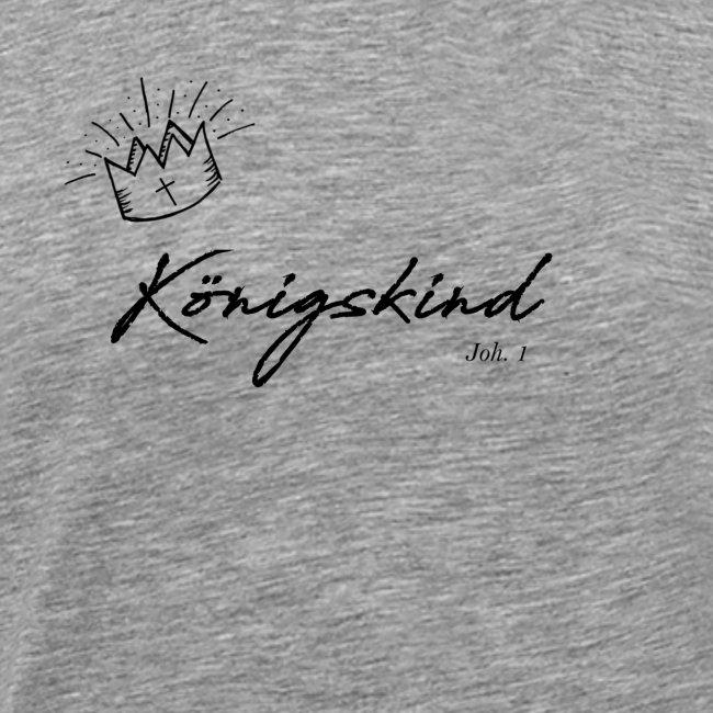 Königsking Kind Gottes Gläubige Christen Tshirt