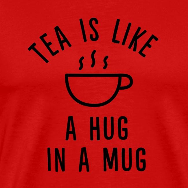 Tea is like a hug in a mug.