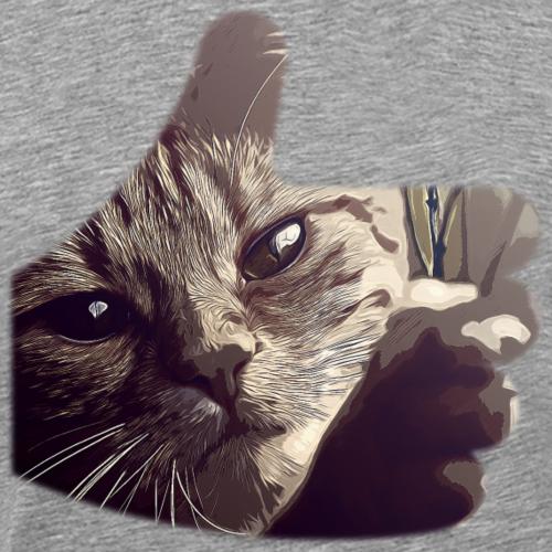 gxp lass deine katze frei vektor kunst natürlich - Männer Premium T-Shirt
