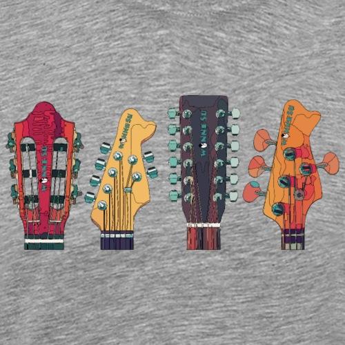 guitars1 1 - Männer Premium T-Shirt