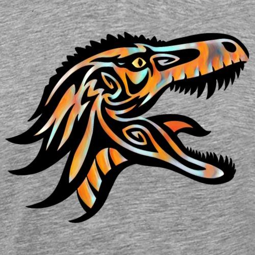Tribal Tyrant Afire - Men's Premium T-Shirt