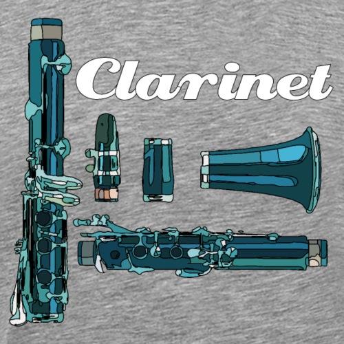 Klarinette2 - Männer Premium T-Shirt