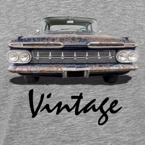 Vintage Car black - Männer Premium T-Shirt