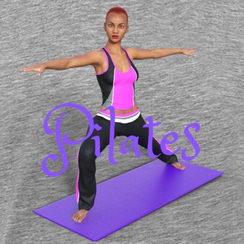 Pilates - Männer Premium T-Shirt