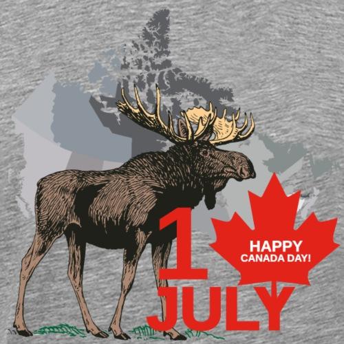 Happy Canada Day - Männer Premium T-Shirt
