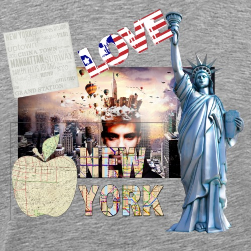 Love New York - Männer Premium T-Shirt
