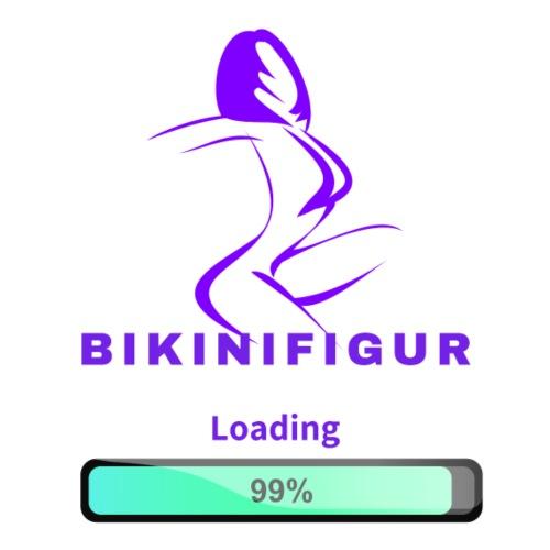 Bikinifigur Loading - Männer Premium T-Shirt