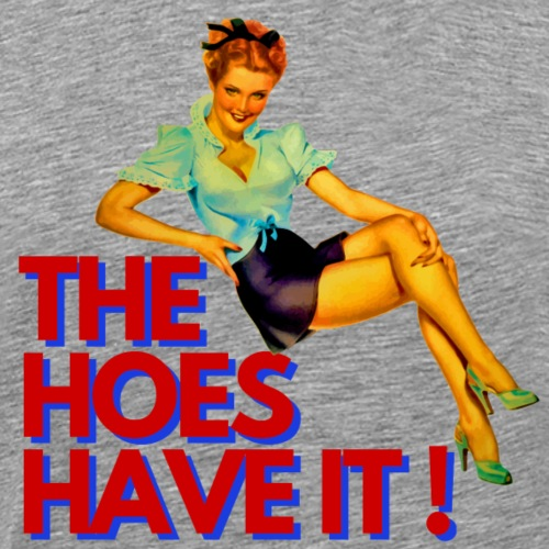 THE HOES HAVE IT - Brexit - Männer Premium T-Shirt