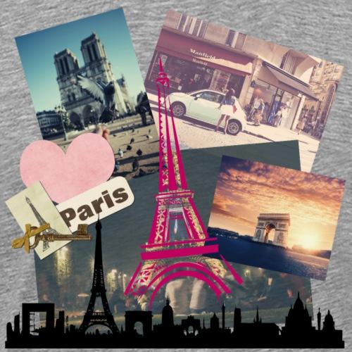 I love Paris - Männer Premium T-Shirt