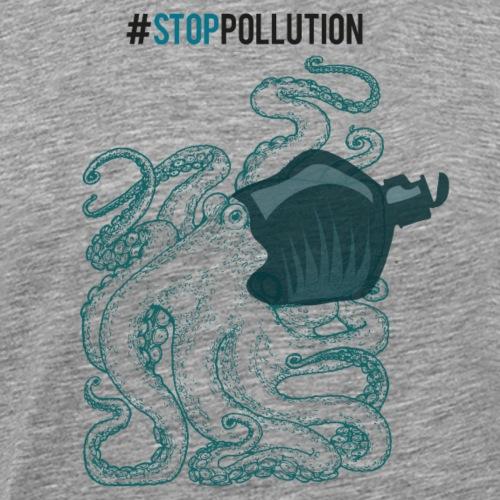 Stop Pollution - Männer Premium T-Shirt